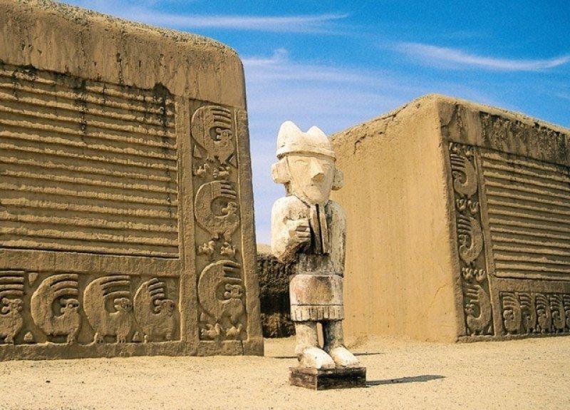 Ciudad de Chan Chan, Perú, Patrimonio de la Humanidad según UNESCO.
