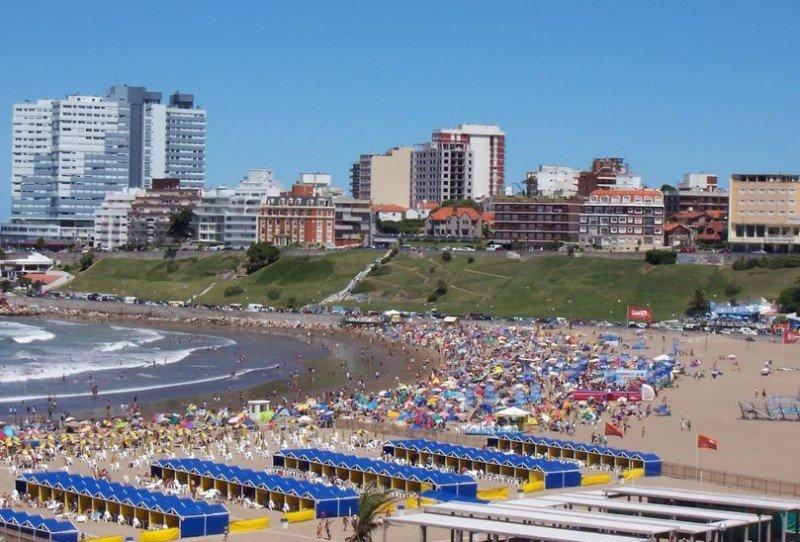 Playa Varese, Mar del Plata.