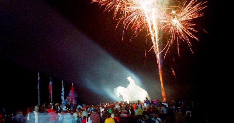 La Noche de los Fogones es la culminación de la semana: el año pasado asistieron 70.000 personas.