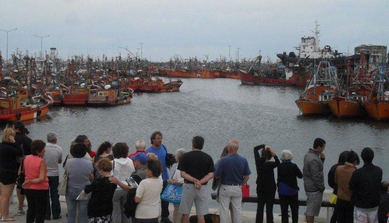 Puerto de Mar del Plata.