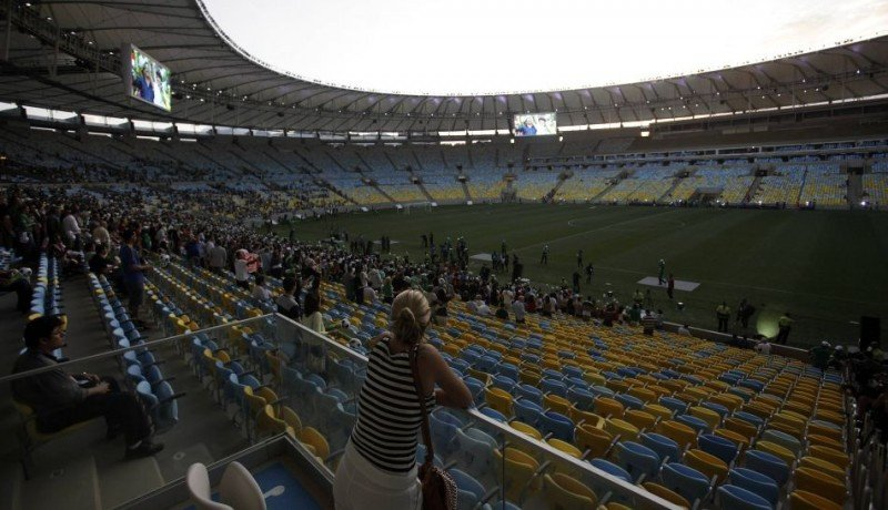 El estadio estuvo cerrado para su remodelación.