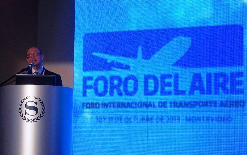 Jaime Binder Rosas, secretario general de la Junta de Aeronáutica Civil (JAC) de Chile.