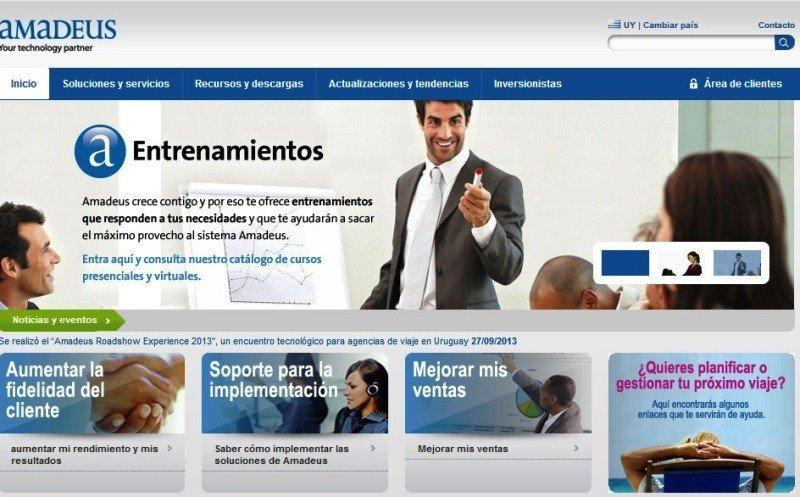 Amadeus presenta sus nuevos sitios web en Latinoamérica
