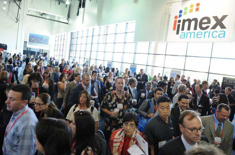 El año pasado más de 2400 expositores de 100 países participaron de IMEX América.