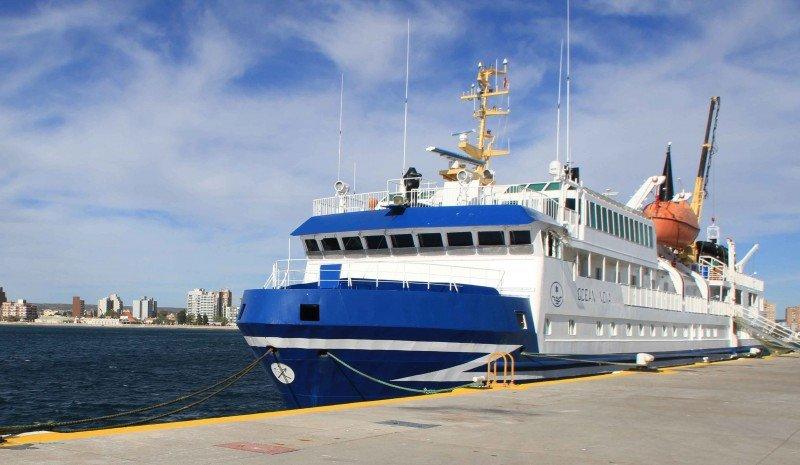 Ocean Nova abrió la temporada en Puerto Madryn.