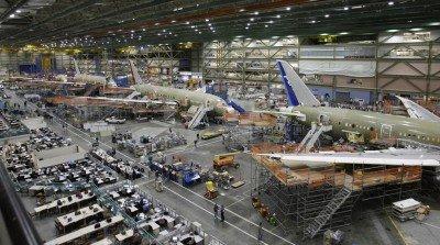 Fábrica Boeing.