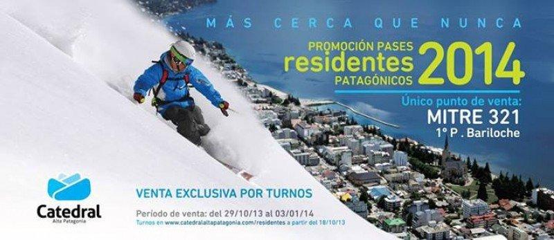 Aviso publicado en la página de Catedral Alta Patagonia.