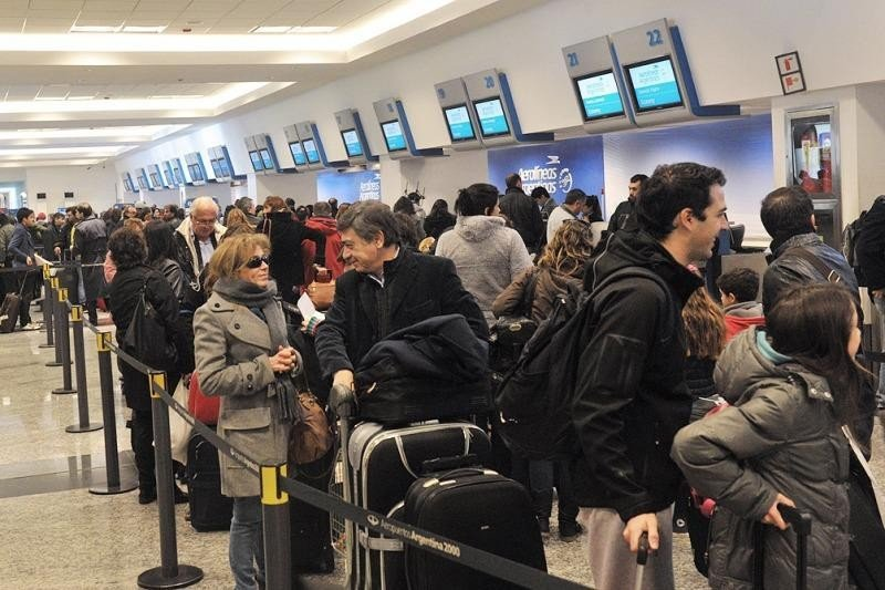 Los vuelos de cabotaje tuvieron un crecimiento del 13,8%.