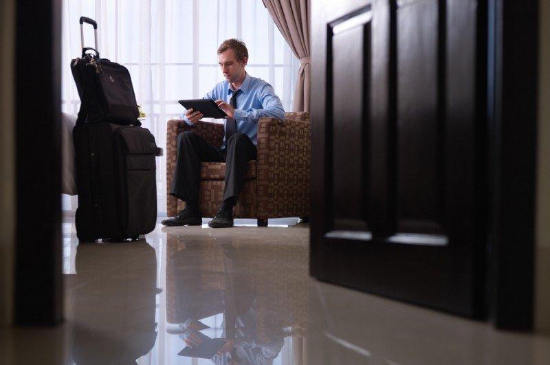 El 55% de los extranjeros hospedados viajó por negocios.