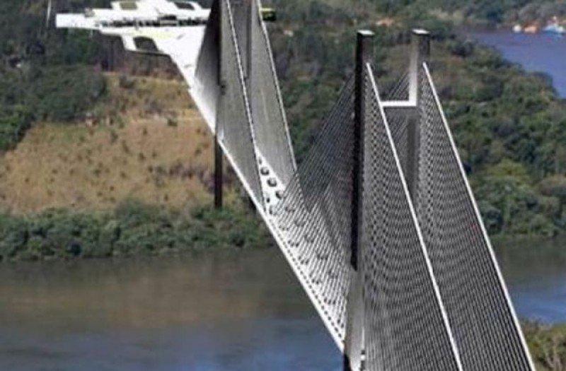 El nuevo puente unirá Foz do Iguazú (Brasil) y Presidente Franco (Paraguay).