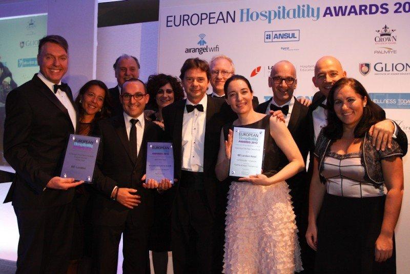Me London, galardonado con tres premios en los European Hospitality Awards