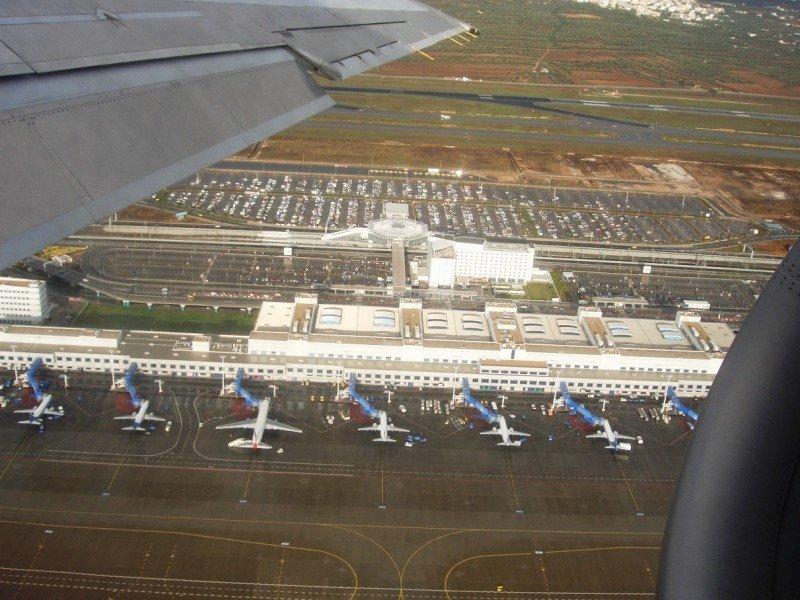 Terminal principal del Aeropuerto Internacional de Atenas Eleftherios Venizelos.