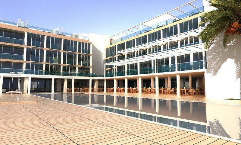 El hotel S'Argamassa, en la bahía de Santa Eulalia, será a partir de la temporada que viene el nuevo ME Ibiza.