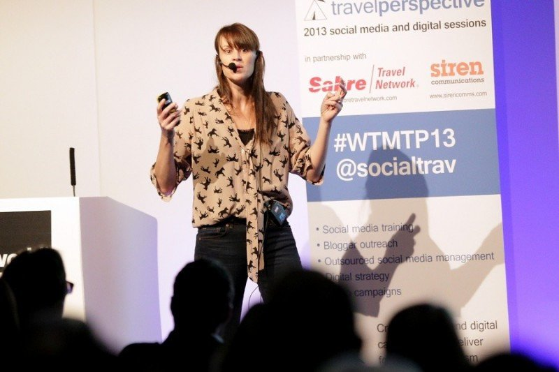 Sarah McDonald, directora del área de turoperadores de Google en Reino Unido.