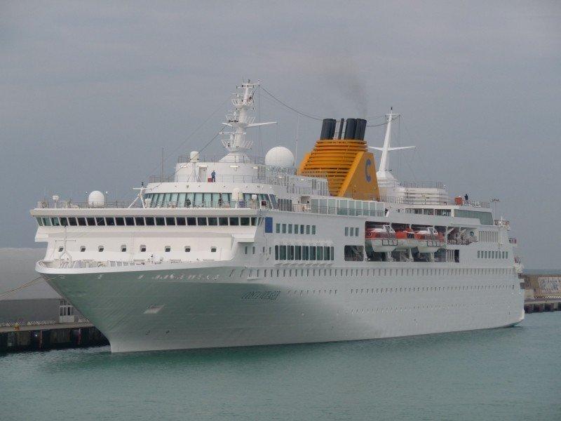 El Costa Voyager es uno de los tres barcos que entrará en astilleros.