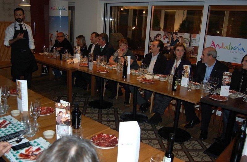 Imagen de las jornadas gastronómicas que Andalucía ha organizado en el marco de la World Travel Market.