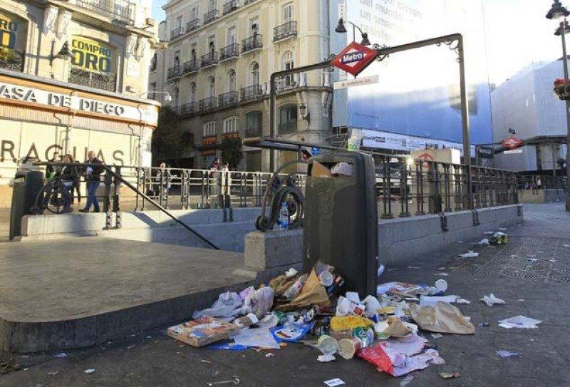 La huelga afecta a los principales circuitos turísticos.