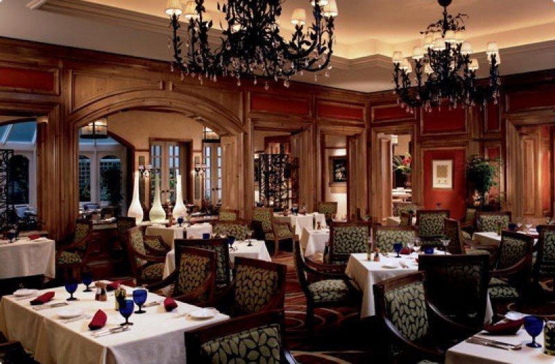 Restaurante Splendido del hotel Ritz-Carlton, de Osaka, donde el escándalo comenzó.