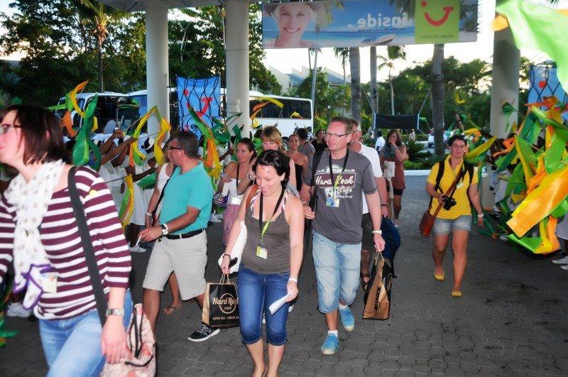 TUI elige los hoteles Bahia Principe de Samaná para celebrar su gala anual Inside Award