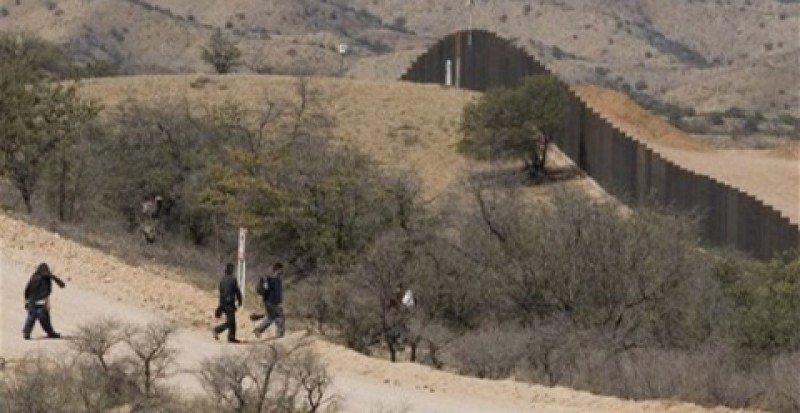 Frontera entre México y Estados Unidos.
