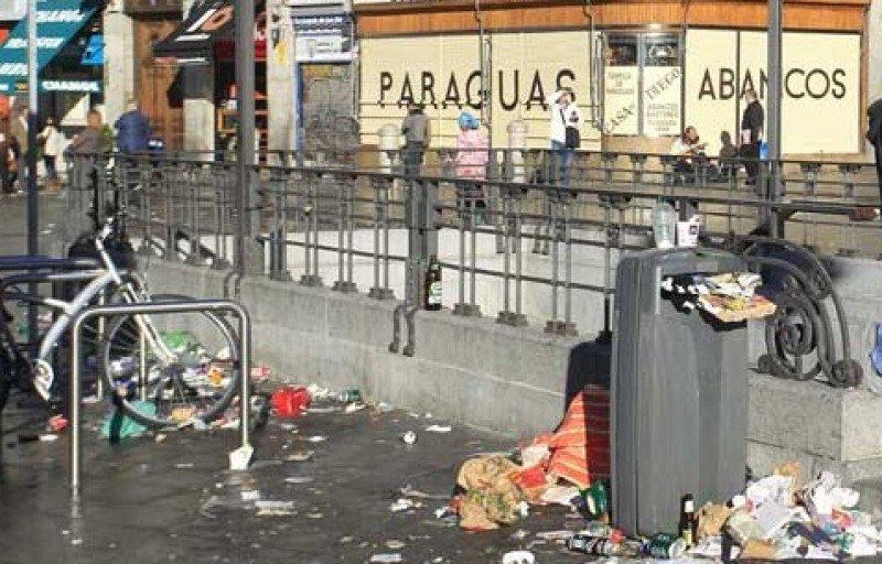 Acuerdo entre empresas y trabajadores de la limpieza de Madrid