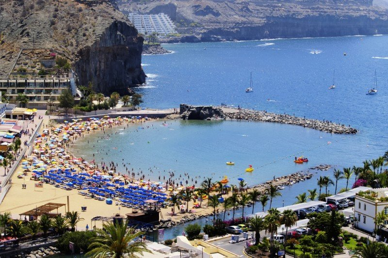 El clima y el sol son la primera motivación para viajar a Canarias para el 95% de los turistas. #shu#