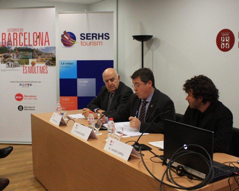 El estudio se presentó ayer en Barcelona con la presencia de Ramon Riera, diputado de Turismo de la Diputación de Barcelona y Ramon Bagó, presidente de Sehrs.