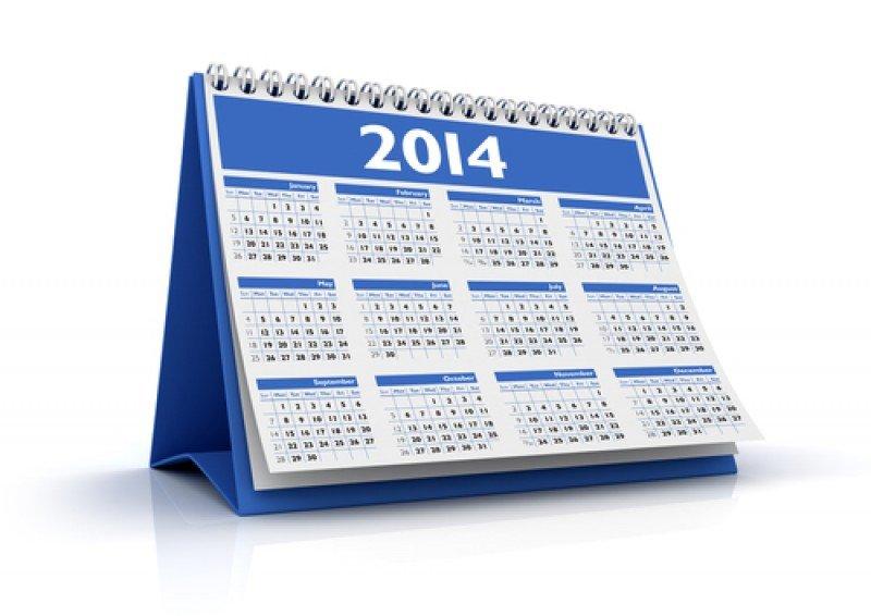 Calendario laboral 2014: 9 festivos y dos puentes. #shu#