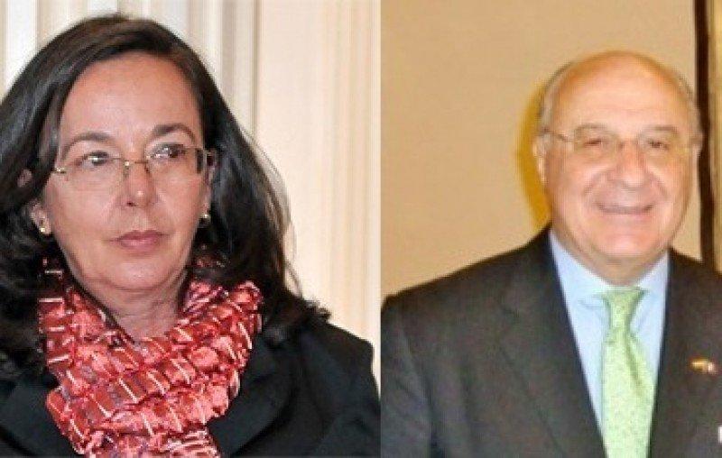 Elena Valdés y Álvaro Renedo.