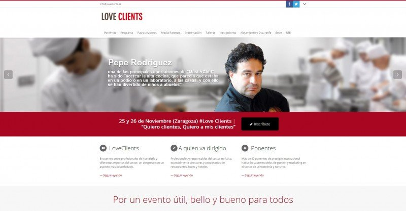 Los profesionales de la hostelería se dan cita en #LoveClients