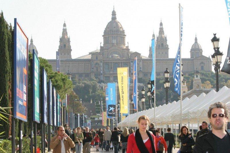 Avenida Maria Cristina, Barcelona.