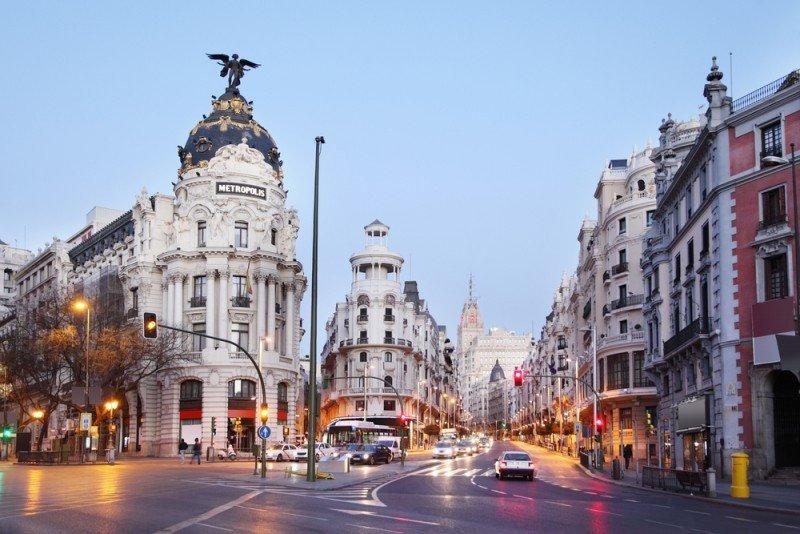 Madrid sufre un descenso de casi el 7% en la llegada de turistas internacionales. #shu#