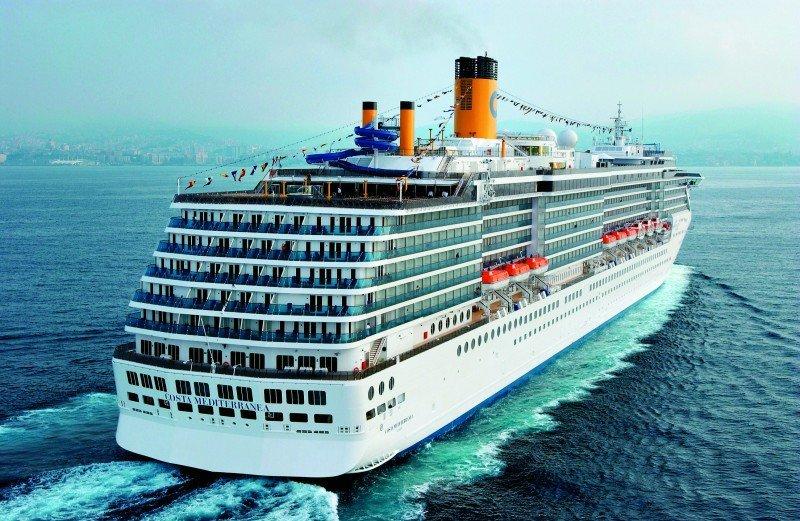 Costa Cruceros invertirá 4 M € en el Costa Mediterránea