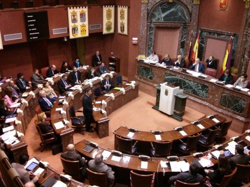 Aprobación de la nueva Ley de Turismo en la Asamblea Regional de Murcia, el pasado 20 de noviembre.