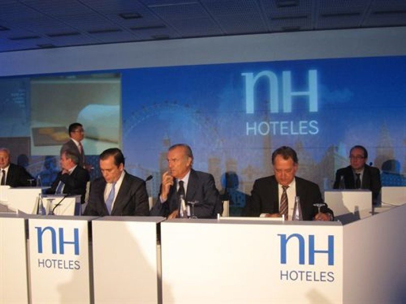 Bankia pone a la venta su participación del 12,6% en NH Hoteles
