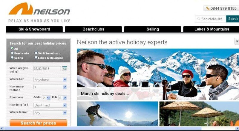Thomas Cook vende el turoperador Neilson por casi 11 M €
