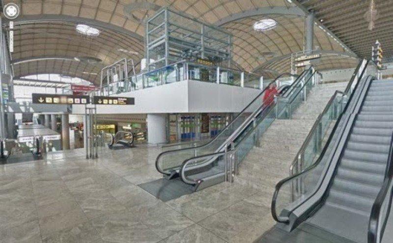 El aeropuerto de Alicante se puede visualizar a través de Street View.