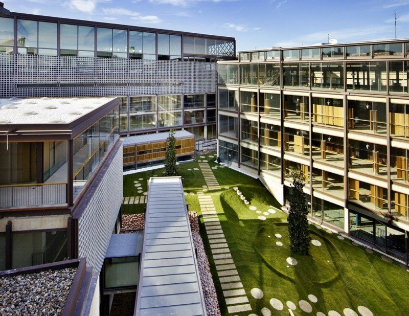 En la sede del COAM (en la imagen) se presentó ayer el Madrid Renove Hoteles.