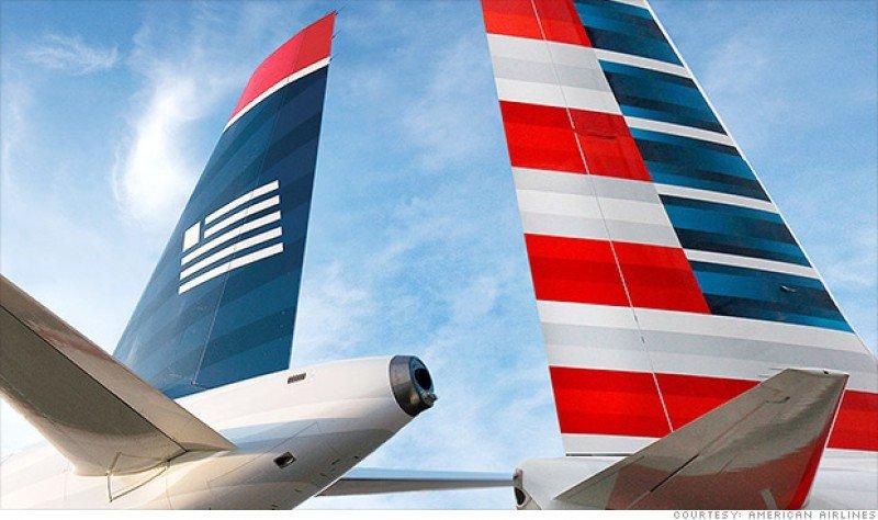 La fusión entre American Airlines y US Airways tiene vía libre
