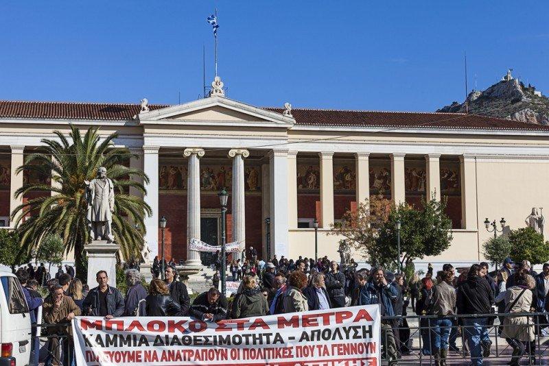 Grecia y España lideran la destrucción de empleo en la eurozona. #shu#