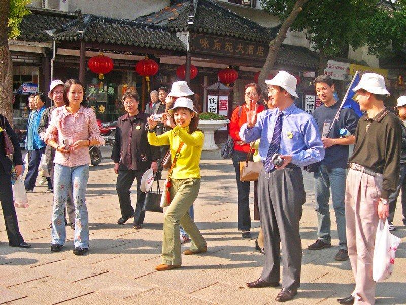 El turismo de compras es una de las actividades de los viajeros chinos en sus desplazamientos. #shu#