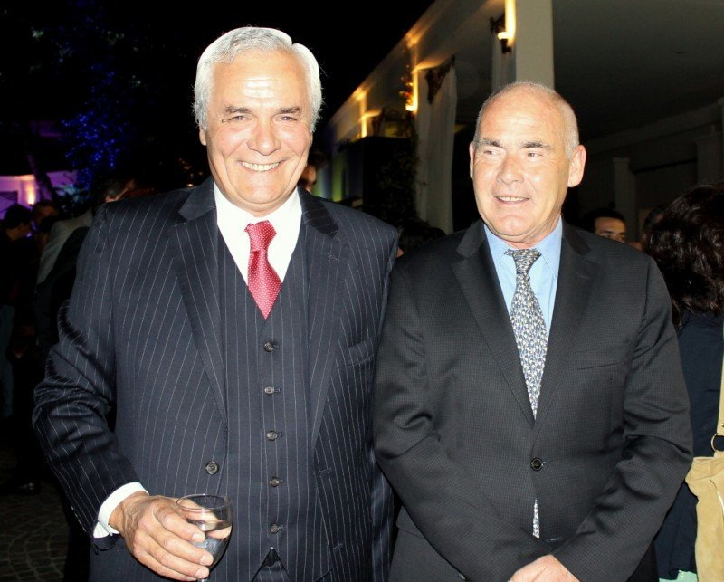 Hugo Marsó (ministro de turismo de Entre Ríos)  junto a Enrique Meyer (ministro de turismo de la Nación).