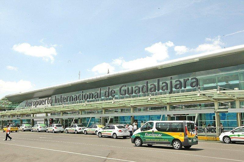 El aeropuerto de Guadalajara fue el de mayor tráfico de pasajeros.