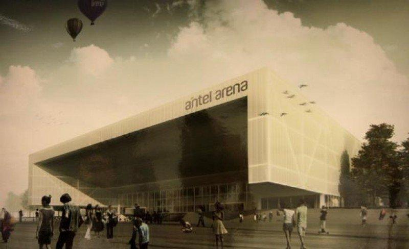 Proyecto ganador para la construcción del Antel Arena.