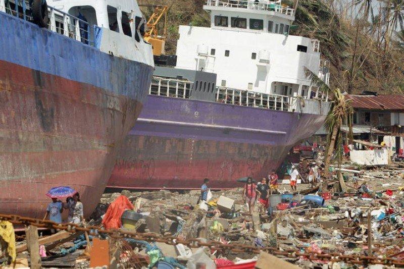 El fenómeno natural causó más de 10.000 muertos y daños incalculables.