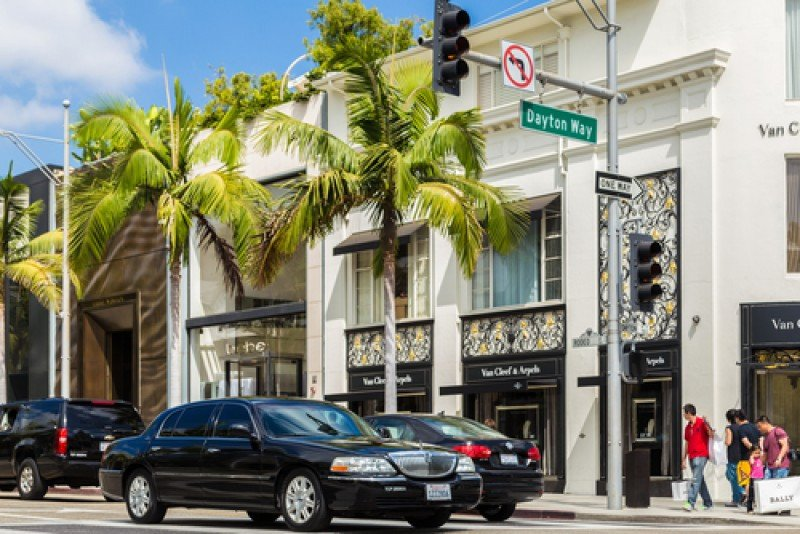 Rodeo Drive, Beverly Hills. #shu# Filipe Matos Frazao