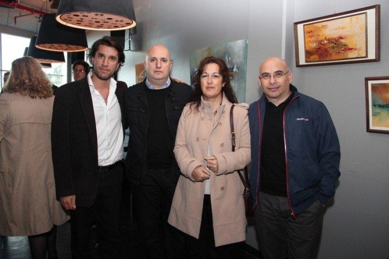 Mario Medina, Rafael Zalkind, Mariela Rodríguez y Fernando Amarillo de Viajes Continental.