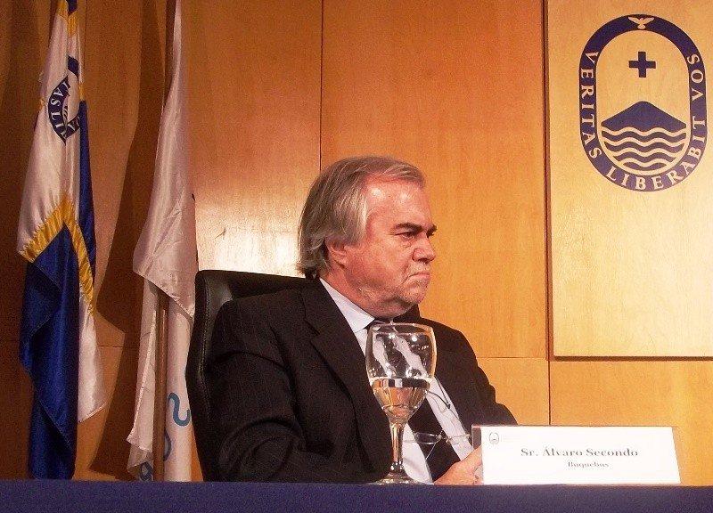 Alvaro Secondo, adjunto a la presidencia de Buquebus.