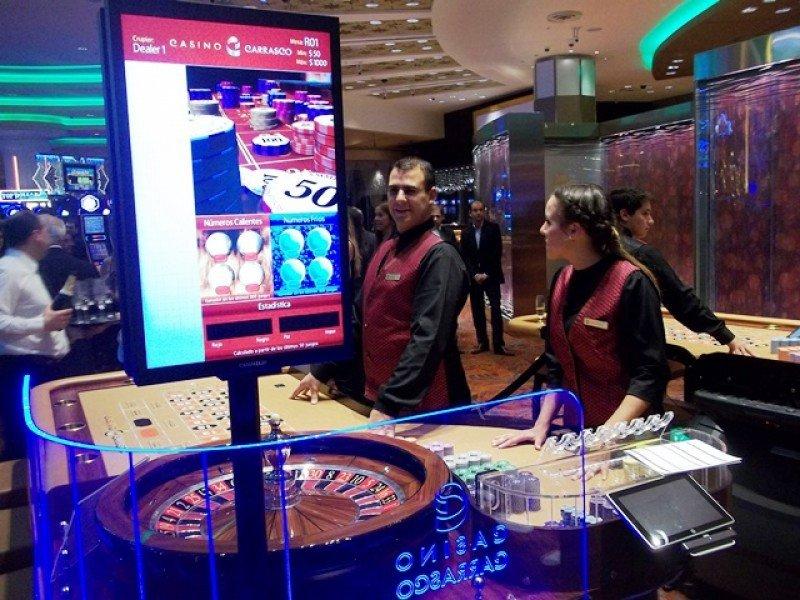 Sala de juego del Sofitel Casino Carrasco