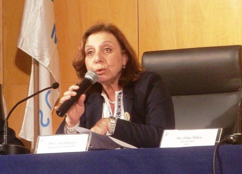 Intendenta de Montevideo, Ana Olivera